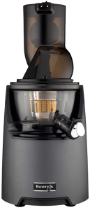 Kuvings Whole Slow Juicer EVO820GM - Higher Nutrients and Vitamins, BPA-Free Components, Easy to Clean, Ultra Efficient 240W, 50RPMs, Includes Smoothie and Blank Strainer-Gun Metal best juicer reviews 2021