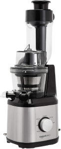 AmazonBasics Easy to Clean Masticating Slow Juicer with Wide Chute