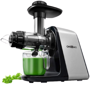 Oneisall Slow Masticating Juicer Extractor Easy to Clean