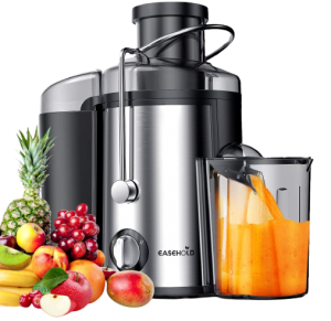 Easehold Juicer Machines Extractor 600W Centrifugal Juicers
